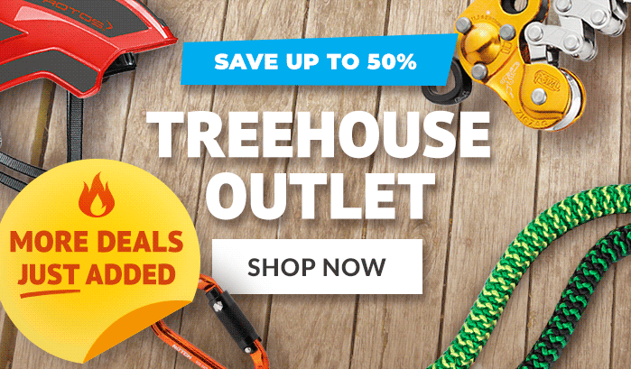 Welcome to the TREEHOUSE! Great Gear up to 50% Off