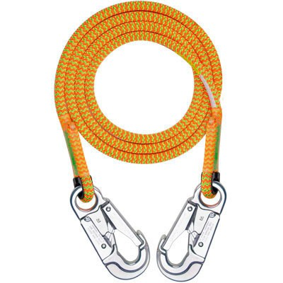 Rope Logic's 11.7mm Tropical Ivy Lanyard with 2 Snaps 12ft