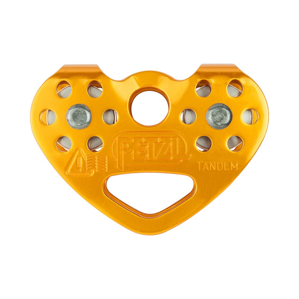 Petzl Tandem Cable Double Pulley Front